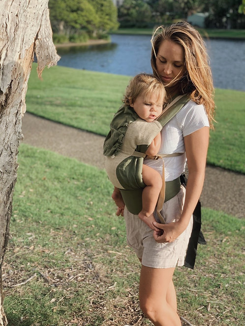 Snap Baby Carrier / Eucalyptus