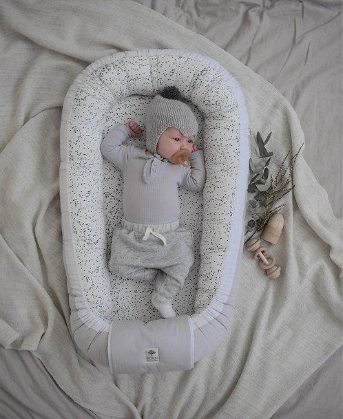 Hniezdo pre bábätko Born Copenhagen / Midnight Dust