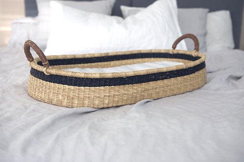 Baby Changing Basket / Midnight Stripe