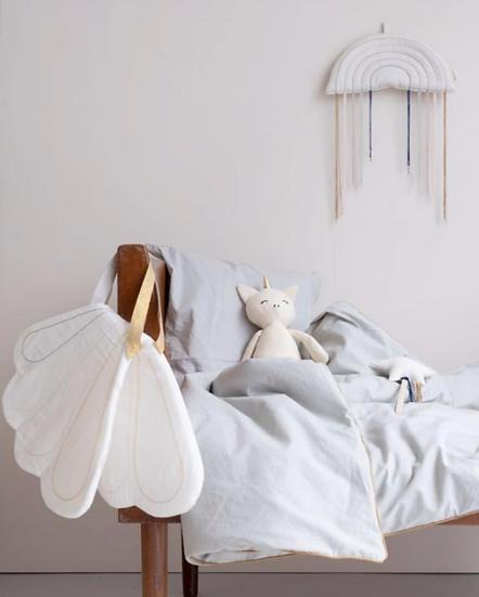 krídla z organickej bavlny