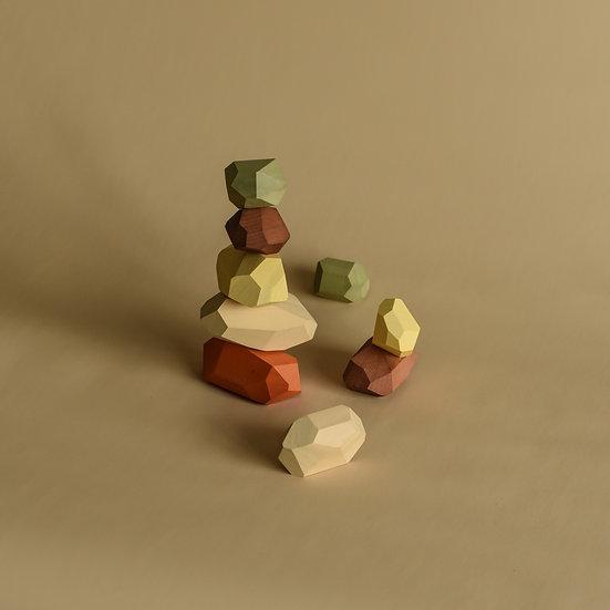 drevené balančné kamene MinMin Copenhagen