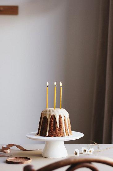 Prírodné sviečky OVO Things / narodeninové