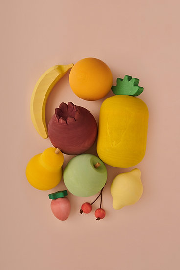 Drevená sada ovocia RADUGA GREZ