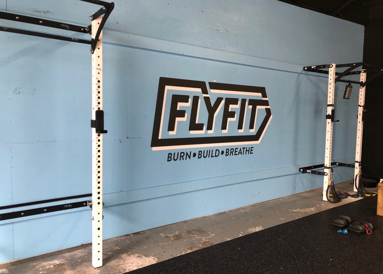 FLY FIT Wall Signage