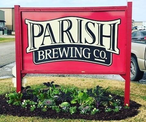 Parish Brewing Co Sign