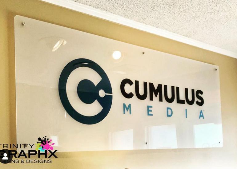 Cumulus Media Interior Sign