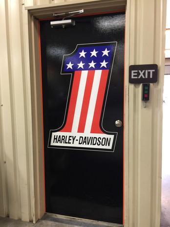 Harley Door Graphics