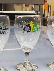 Mardi Gras Glasses