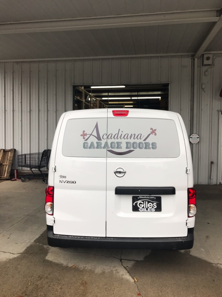 Acadiana_Garage Custom Van Wrap