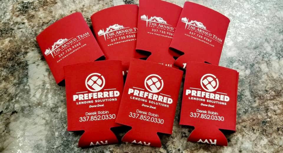 Custom Coozies with Your Logo and Brand