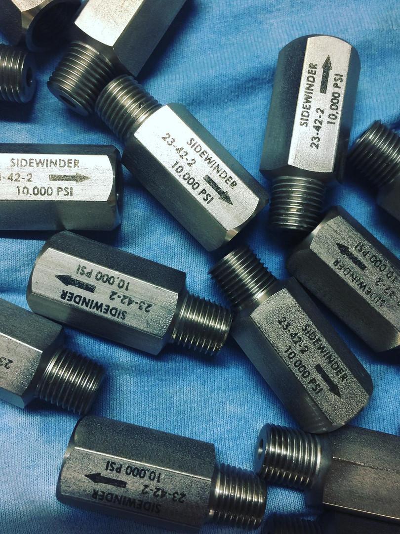 Laser Industrial Custom Jobs