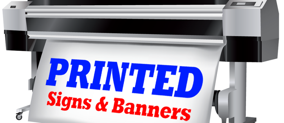 Printed Signs & Banners