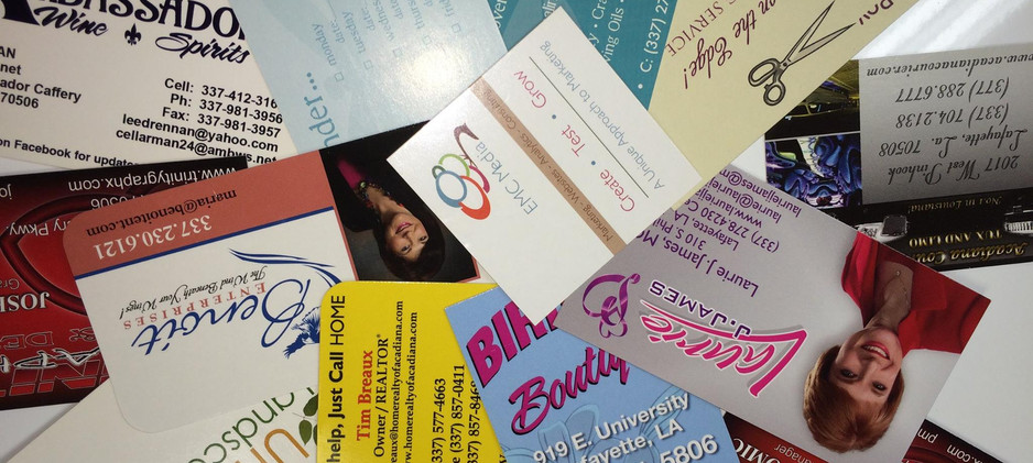 Got a Business? We Have Business Cards, Do You?