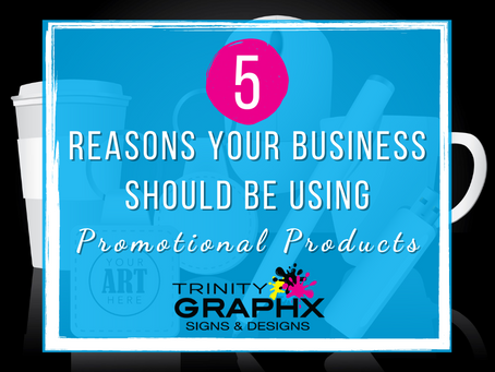 Top Five Reasons Why Your Business Should Be Using Promotional Products
