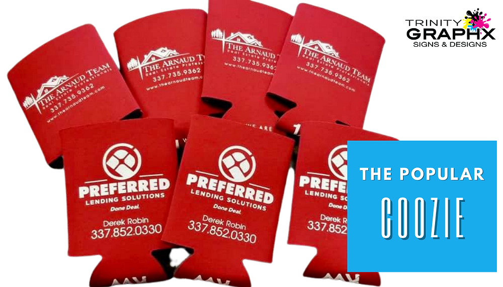 Trinity Graphx The Popular Coozie Promotional Products