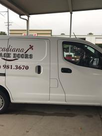 Acadiana Garage Custom Van Wrap