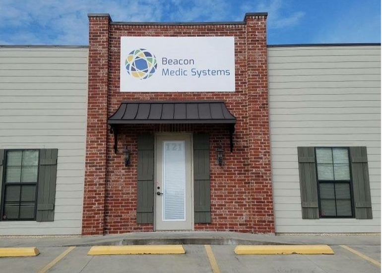 Beacon Medic Systems Outdoor Sign