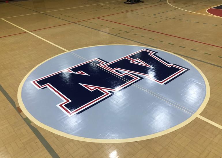 North Vermilion High School Floor Graphic