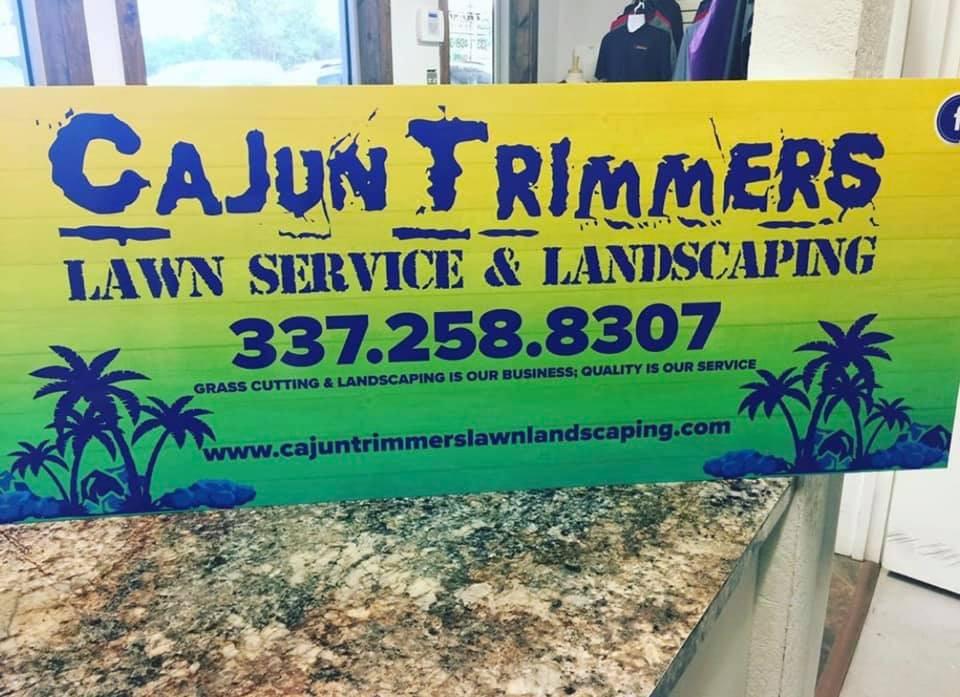 Cajun Trimmers Sign