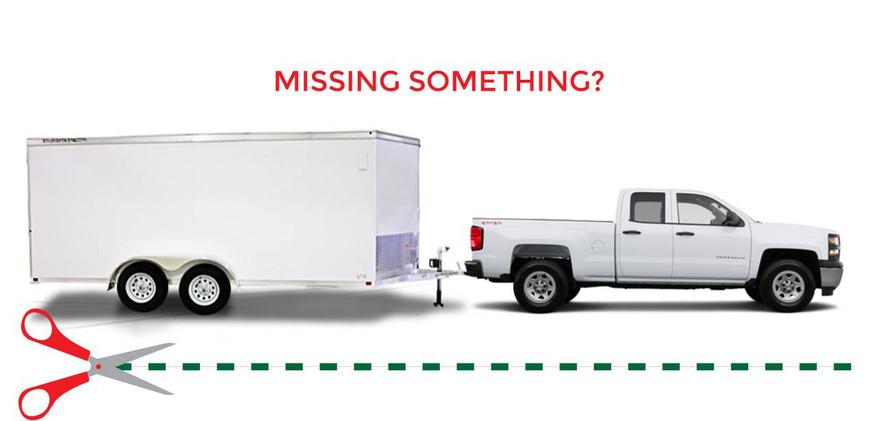 Missing Something Vehicle Wrap