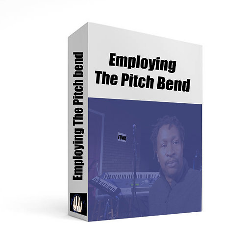 Using the Pitch bend  in a solo