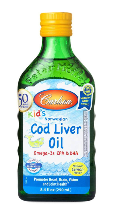 Building Kids Immune Systems- Cod liver oil