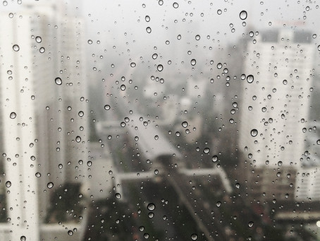 Teardrops on the window
