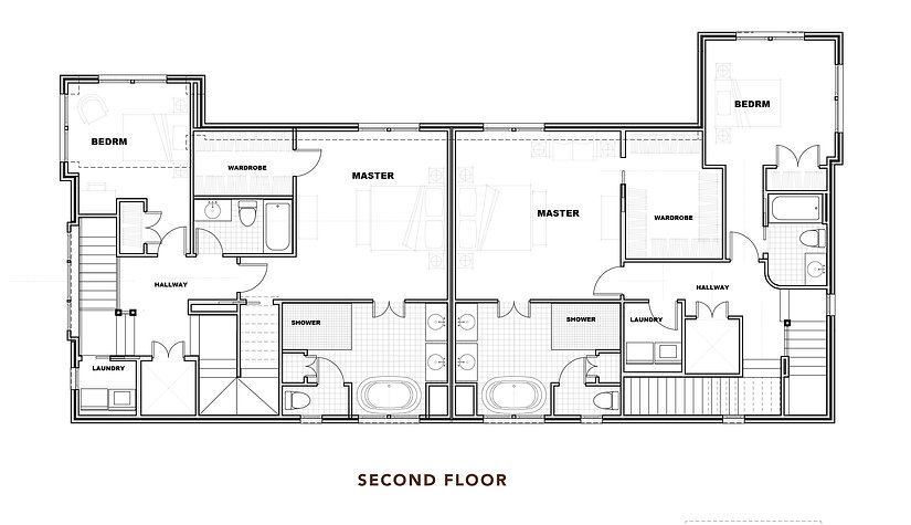724 and 726 Brookside Ave_Floor Plans_Se