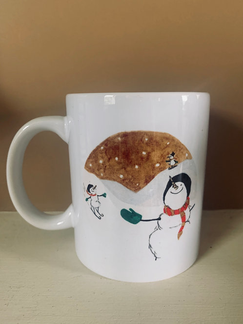 The Snowman Slope Festive Mug