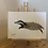 Thumbnail: Leaping Badger Painting