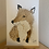 Thumbnail: Coffee Stain Fox Original Painting