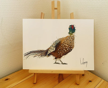 Pheasant Original Painting
