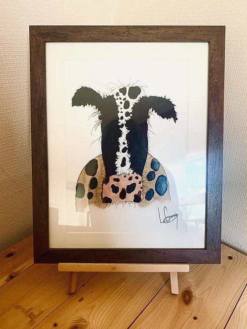 Moo Cow Original Painting