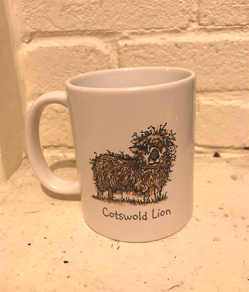 Cotswold Lion Sheep Mug
