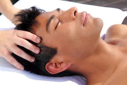 Massage Indien crâne & dos 60 min