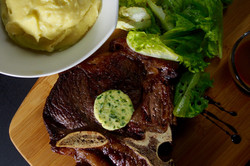thick slab steak