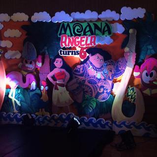 A Luau Voyage for Angela's Sixth