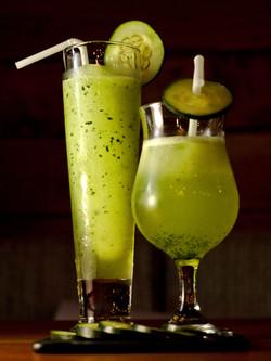 Cucumber-lemon shake