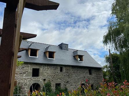 Couverture à Saint Igeaux