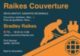 Carte de visite Raikes Couverture