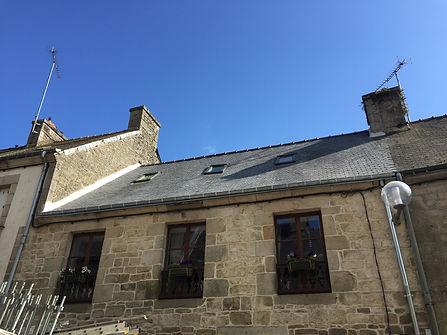 Exemple de toiture réalisée par Raikes Couverture à Guemene / Scorff