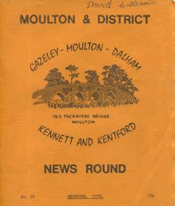 Moulton & District News Round Dec 1978