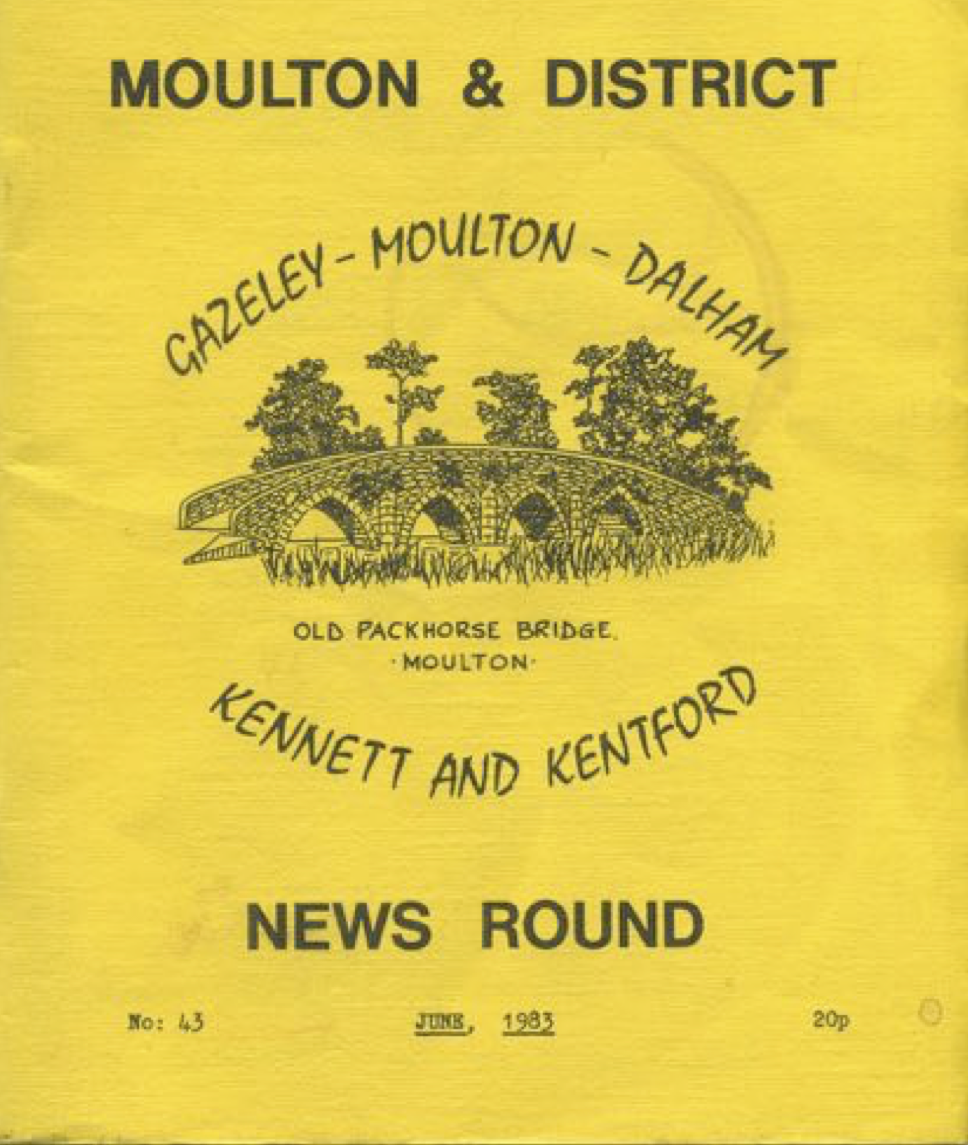 Moulton & District News Round Jun 1983
