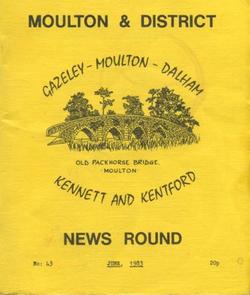 Moulton & District News Round Jun 1983