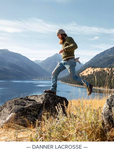 """""""Since 1932 Danner has believed in footwear with purpose and integrity. Our partnership with Outdoor Equipped has helped to maximize these merits in the specialty ecommerce space."""""""