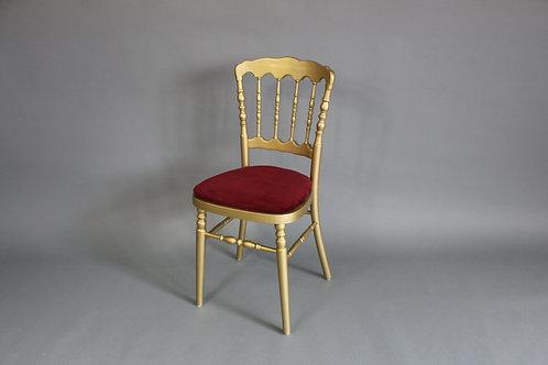 Stuhl Napoleon gold