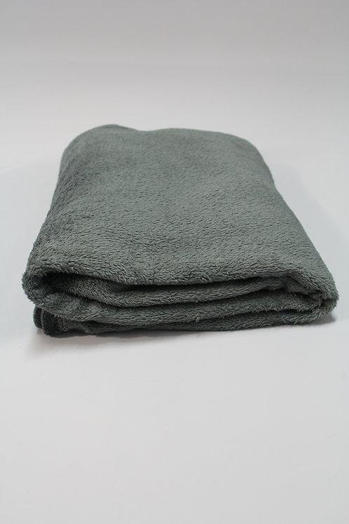 Fleecedecke grau