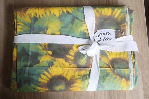 Stoff Baumwolle Sonnenblume