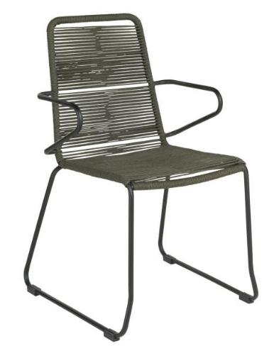 Stuhl Filea mit Armlehne