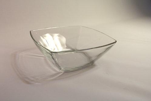 Glasschüssel eckig